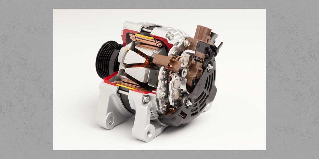 QiM Denso Generator Innenraum