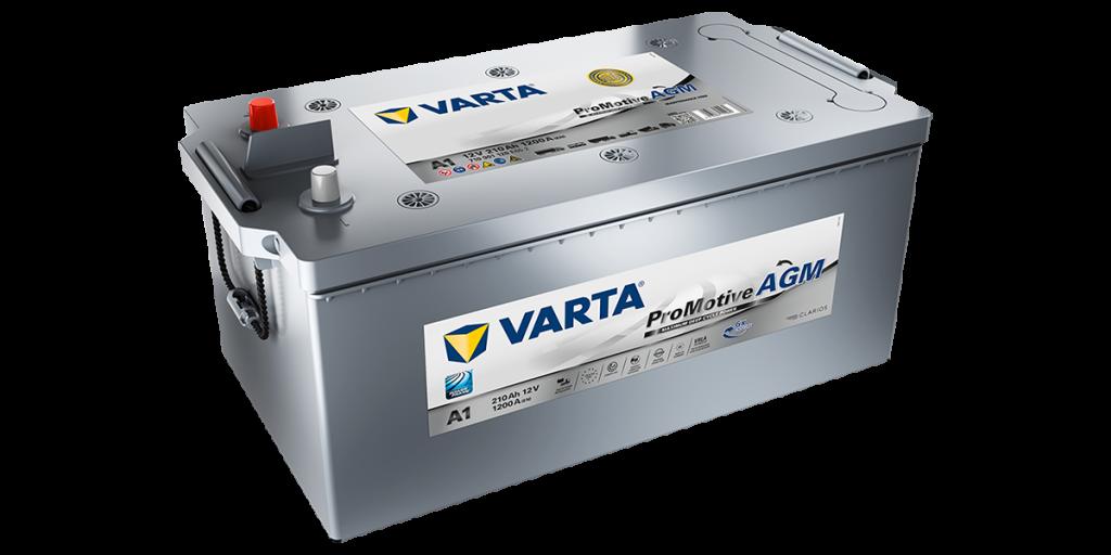 Varta-LKW-Batterie