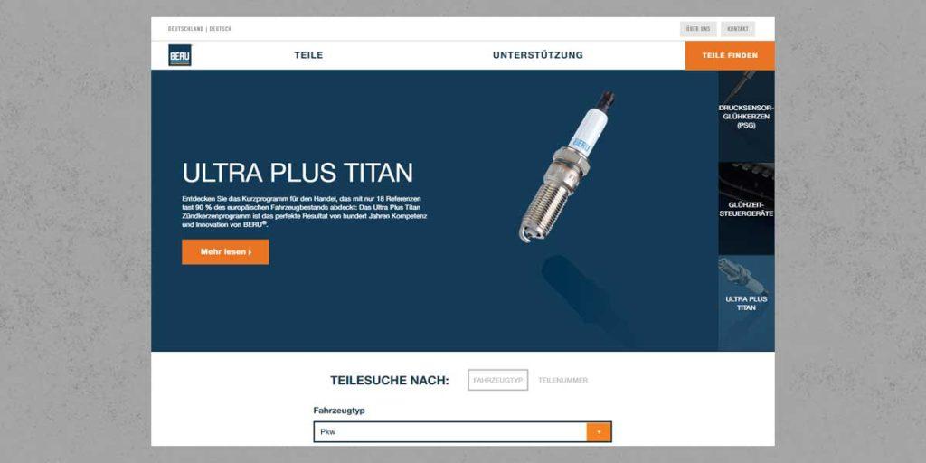 QiM neue Website von BERU