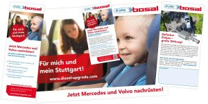 Flyer - Poster - Plakat - Bosal Diesel Upgrade