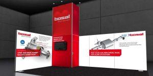 Bosal Messe-Stand für Retrofit Diesel EURO 5 Nachrüstung