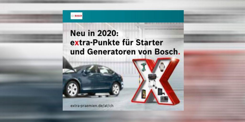 Bosch Starter mit Auto und X