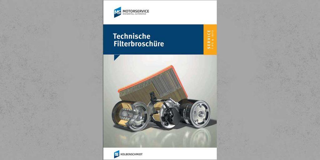 Qim Motorservice Technische Filterbroschüre