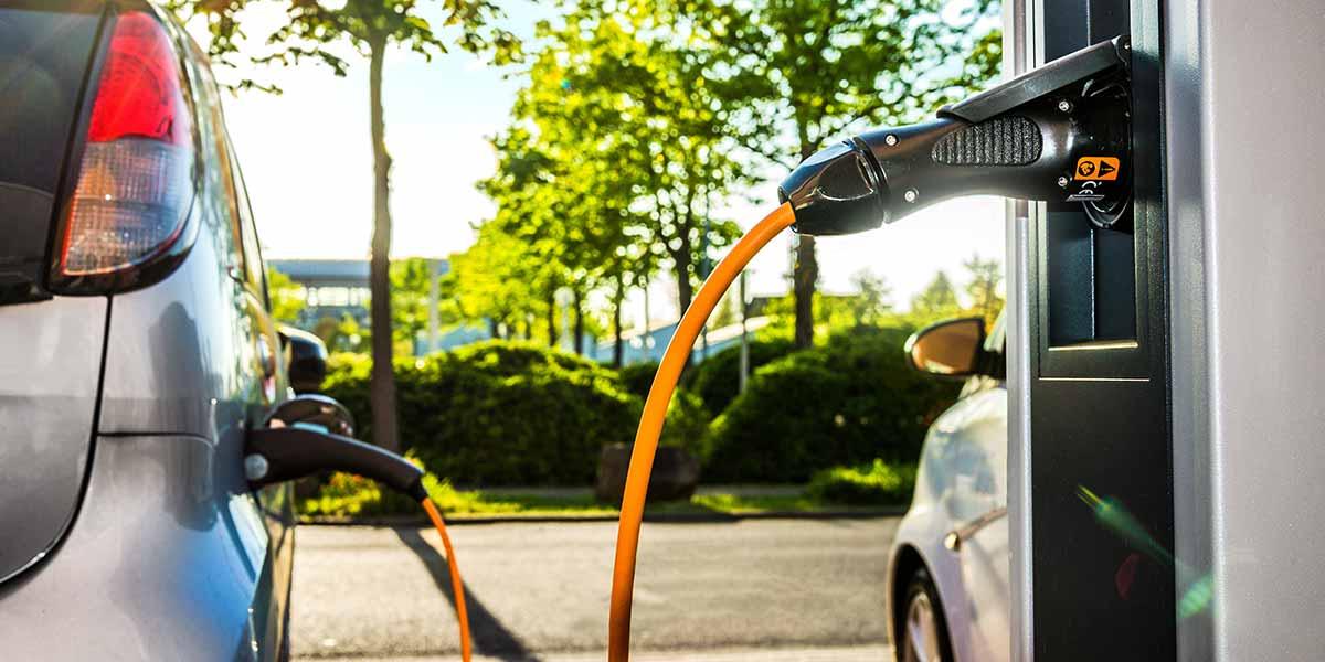 Elektromobilität - Aufgelade-Vorgang