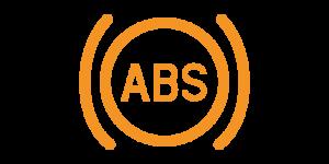 Kontrollleuchten und Warnleuchten im Auto - Gelb ABS