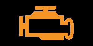 Kontrollleuchten und Warnleuchten im Auto - Gelb Motor