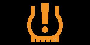 Kontrollleuchten und Warnleuchten im Auto - Gelbe Reifendruckkontrollleuchte