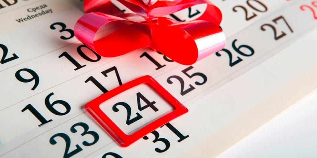 Gesetzliche Urlaubsregelungen Heiligabend und Silvester