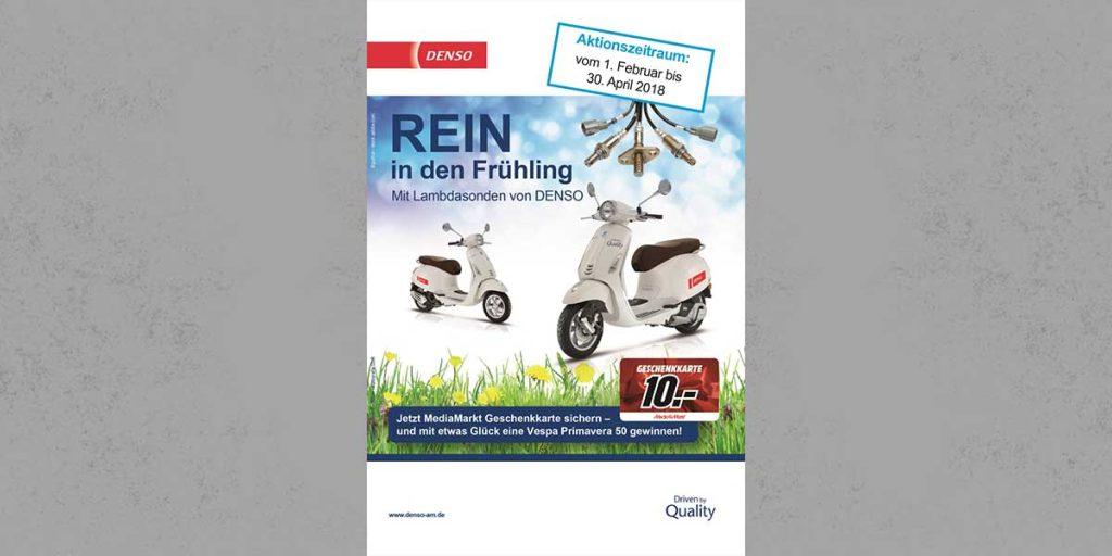 """QiM Denso Gewinnspiel """"Rein in den Frühling"""""""