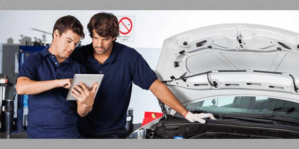 QiM Beratung in der Auto-Werkstatt