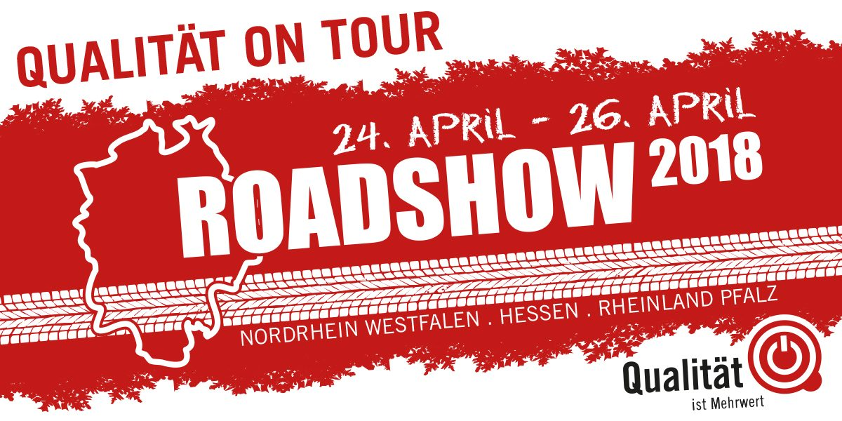 QiM Qualität on Tour Roadshow 2018