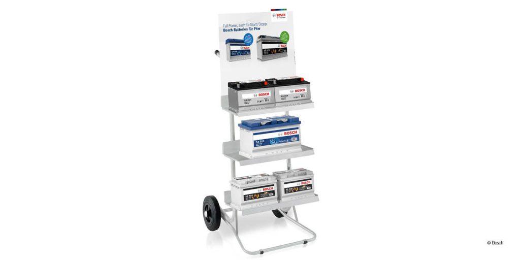 Jetzt Batterie-Karren beim Kauf von Bosch-Batterien erhalten!