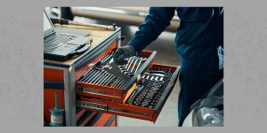 QiM Textar Werkzeugsortiment für Werkstatt