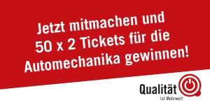 QiM Jetzt Tickets für Automechanika 2018 gewinnen