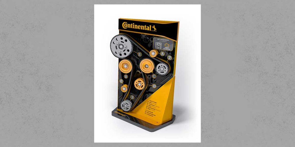 QiM Continental Riementriebsdisplay