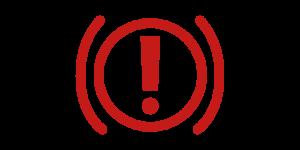 Kontrollleuchten und Warnleuchten im Auto - Rot Bremsleuchte