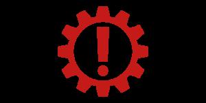 Kontrollleuchten und Warnleuchten im Auto - Rot getriebe