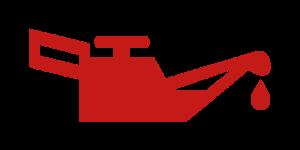 Kontrollleuchten und Warnleuchten im Auto - Rot Öl