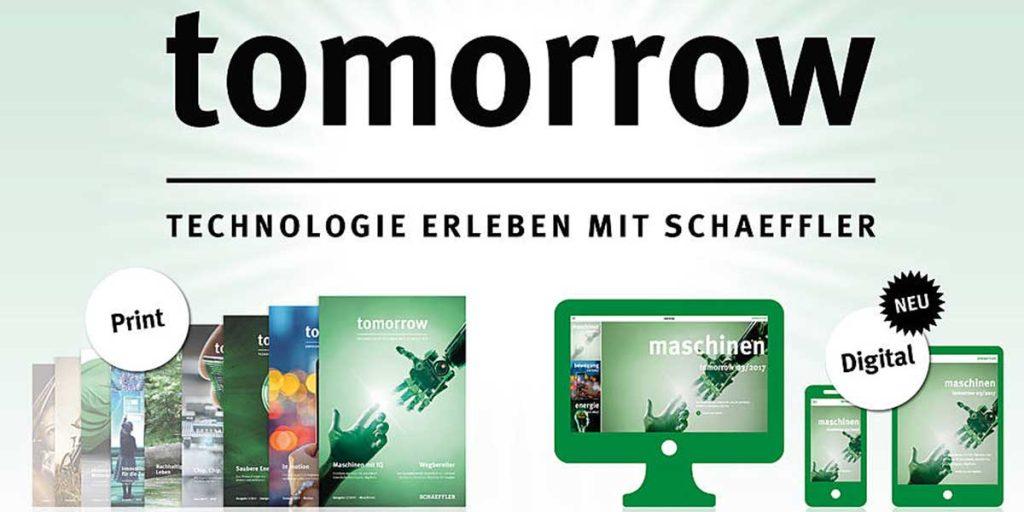 QiM Schaeffler: tomorrow - Technologie erleben