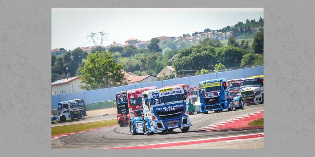 QiM FIA European Truck Race Iveco Knorr Bremse