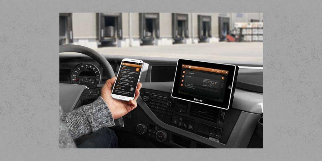 QiM Fahrer-App TX-Flex