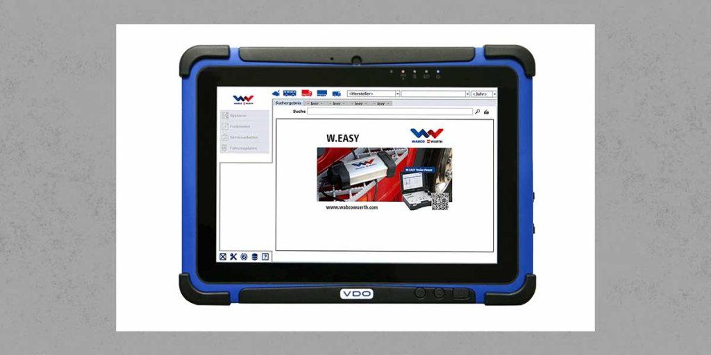QiM VDO Workshop Tablet