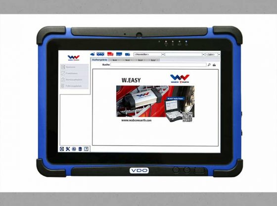 QiM VDO Workshop Tablet